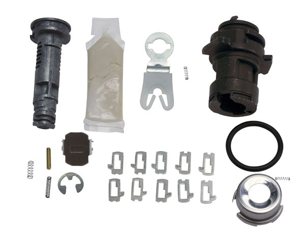 2015+ Ford F150 Left Door (Drivers) Kit with Tumblers - Strattec 7026856