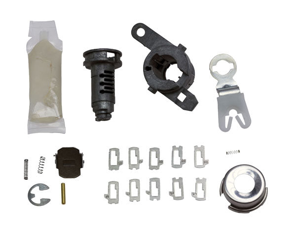 2015+ Ford F150 Tailgate Lock Kit with Tumblers - Strattec 7026860