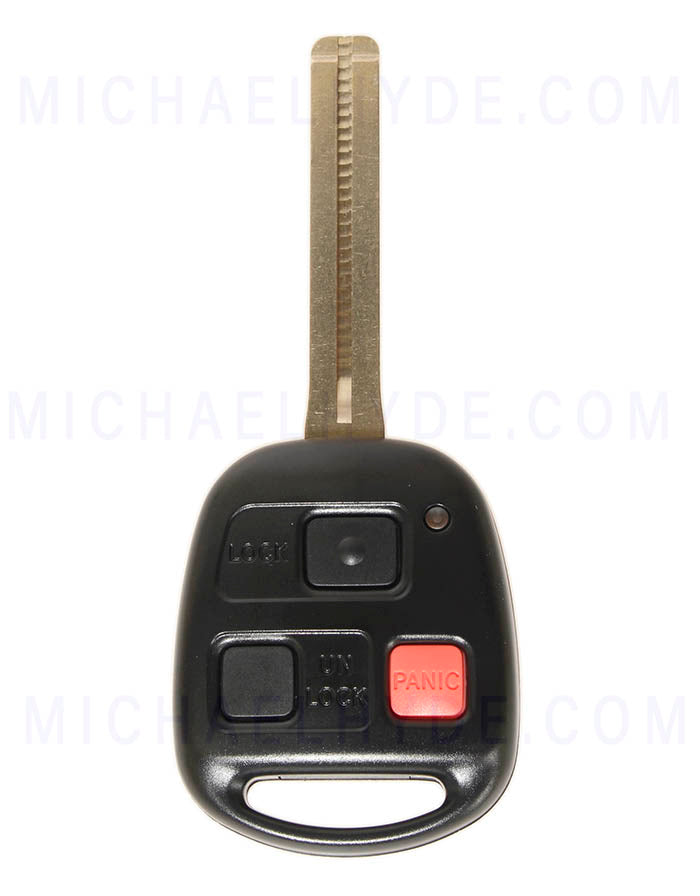 LX470 (1998-00) Remote Head Key (Factory Original) 89070-60080 - FCC: HYQ1512V