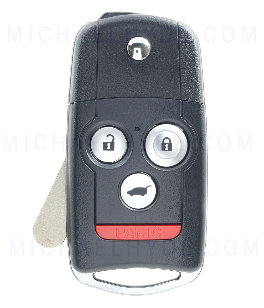MDX Acura 2010-2011 Remote Flip Out Key Driver 2 (FACT ORIGINAL) 35111-STX-A50 - FCC: N5F0602A1A