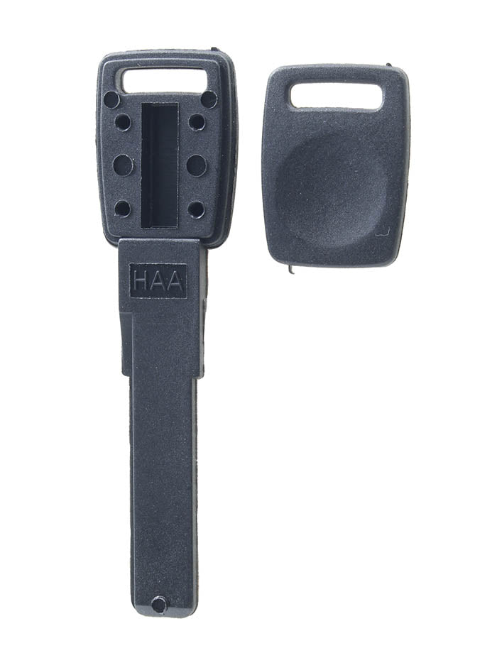 Audi High Security Plastic Valet Key - Space in head of key for wedge transponder chip of your choice.