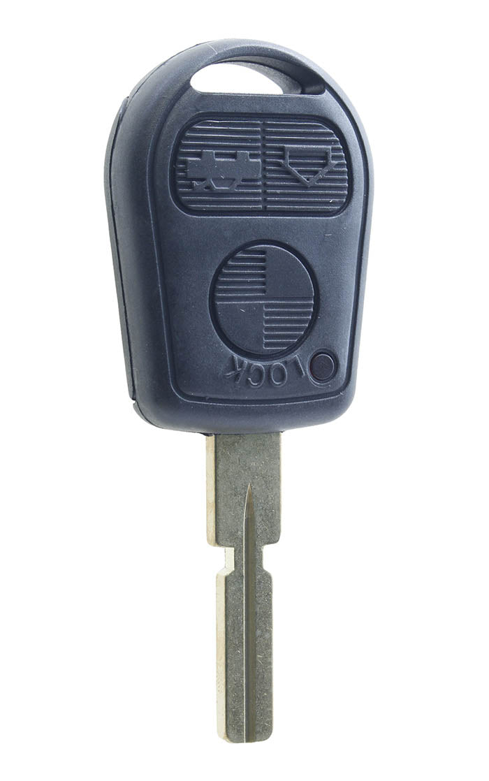 BMW 4-Track Shell Key (older style) Replacement Case & Key Shell - Closeout