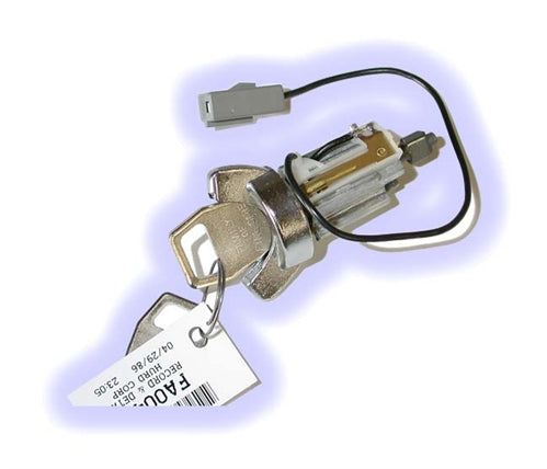 ASP C-42-407 - LC1407, Ignition Lock with Keys, Ford - Lincoln - Mercury (C42407 LC1407) Chrome