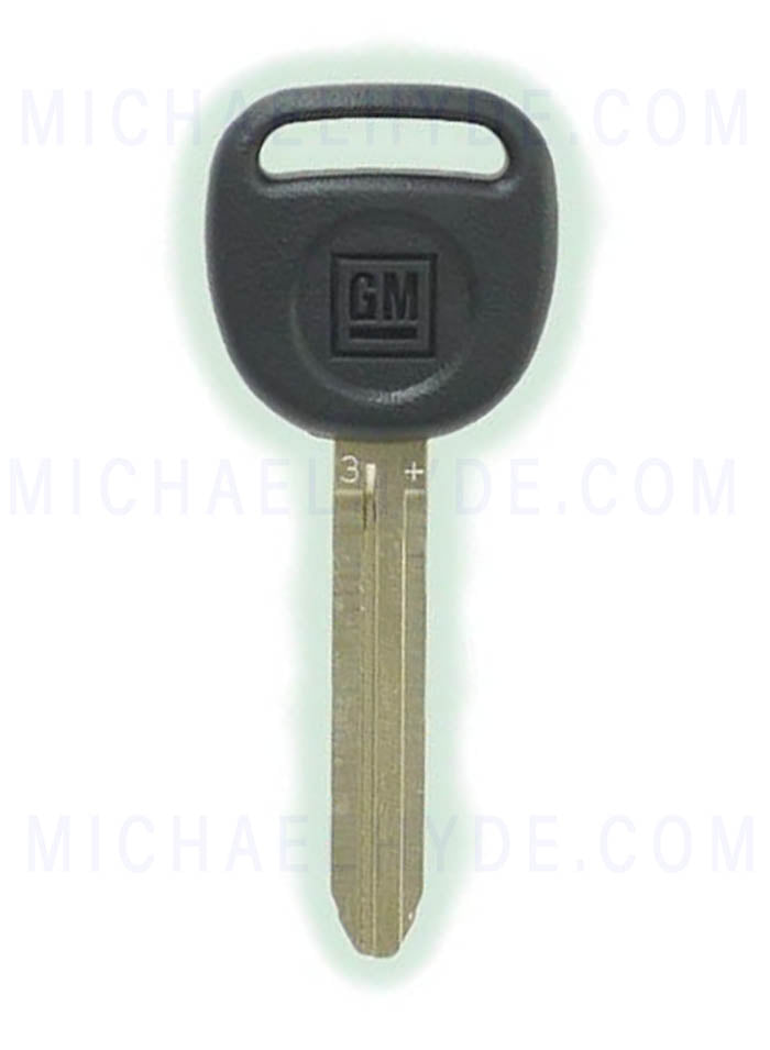 Chevy Colorado & GMC Canyon PK3+ Factory Chip Key - GM# 19167217