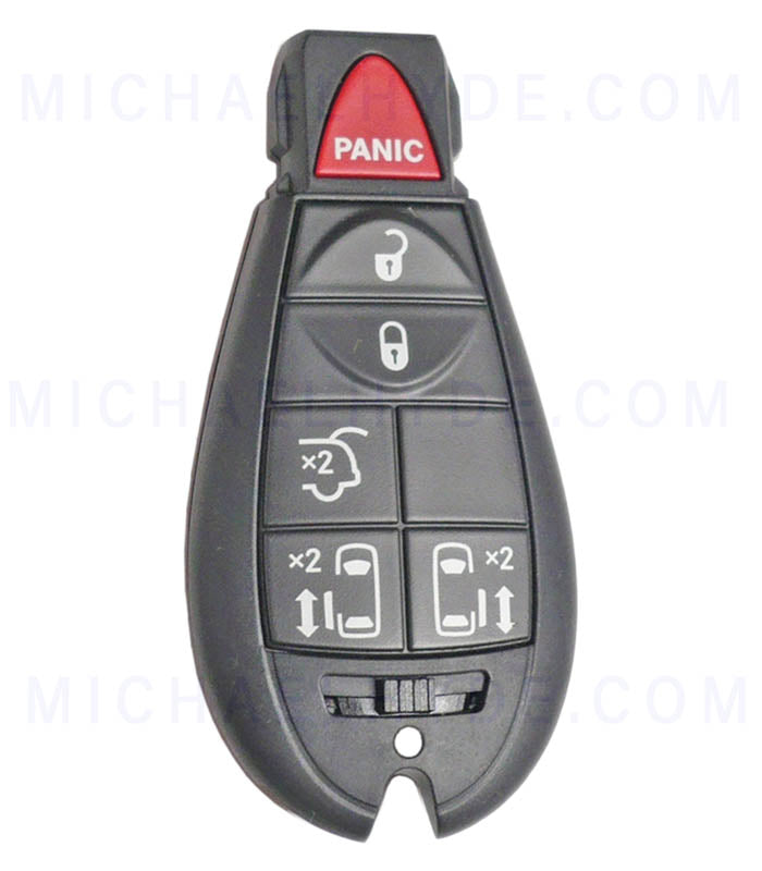 Town & Country 2008-10 Chrysler Remote 6 Buttons - Fobik (Factory Original) 05026098AD
