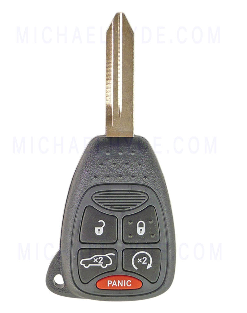 200 & Aspen Chrysler 2011-14  Remote Head Chip Key (Factory Original) 68092989AA, 68273344AB - FCC: OHT692427AA