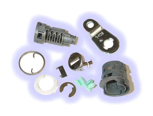 ASP D-19-211, Honda Door Lock, Uncoded service pack including pawl-tailpiece Left Hand (D19211)