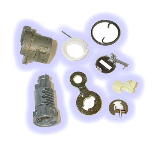 ASP D-19-214, Honda Door Lock, Uncoded service pack including pawl-tailpiece Right Hand (D19214)