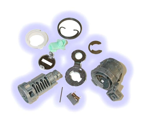 ASP D-19-215, Honda Door Lock, Uncoded service pack including pawl-tailpiece Left Hand (D19215)