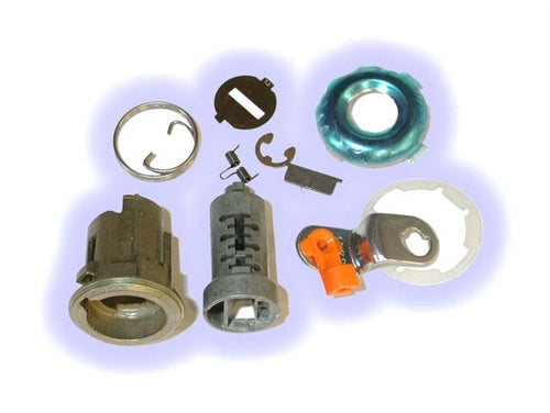 ASP D-24-202, GEO - Isuzu Door Lock, Uncoded service pack, without pawl-tailpiece (D24202)