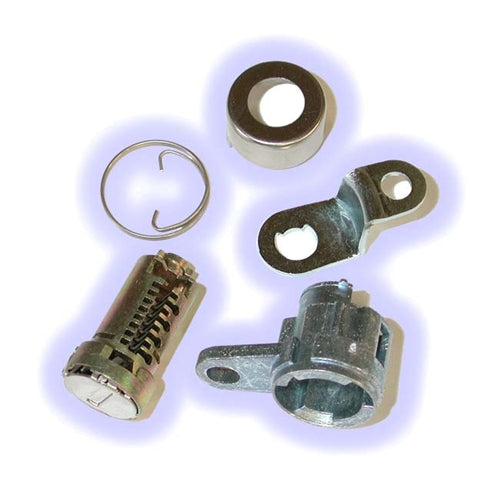 ASP D-24-203, Honda - Isuzu Door Lock, Uncoded service pack, including pawl-tailpiece Right Hand (D24203)