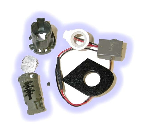 ASP D-42-214, Ford Door Lock, Uncoded service pack Left Hand, lighted keyhole (D42214)