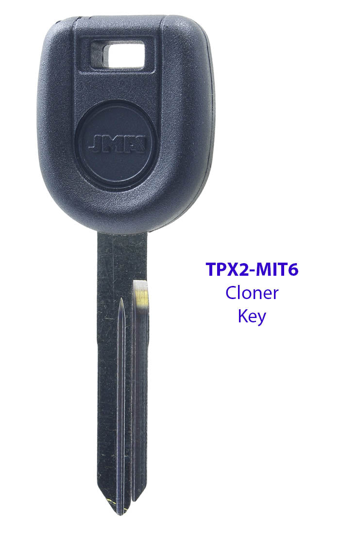 Mitsubishi Eclipse - Galant 692564 (N Chip) Cloner Key - Compatible with the JMA Cloner Type - TPX2 MIT18P MIT6
