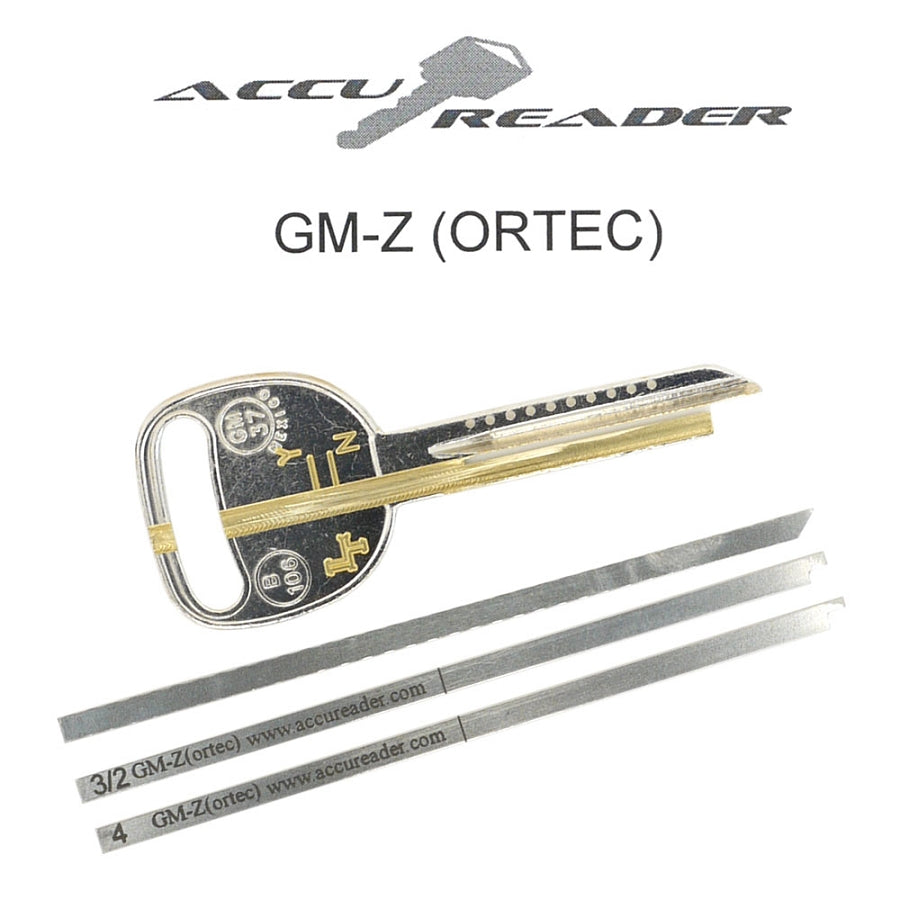 Accureader for the GM 'Z' ORTEC keyway locks - LockTech