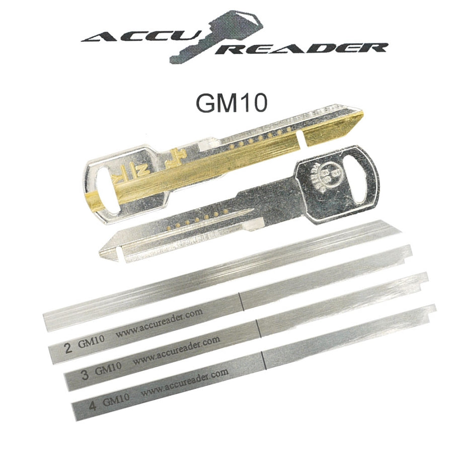 Accureader for the GM 10 cut keyway locks (B96, B102) LockTech