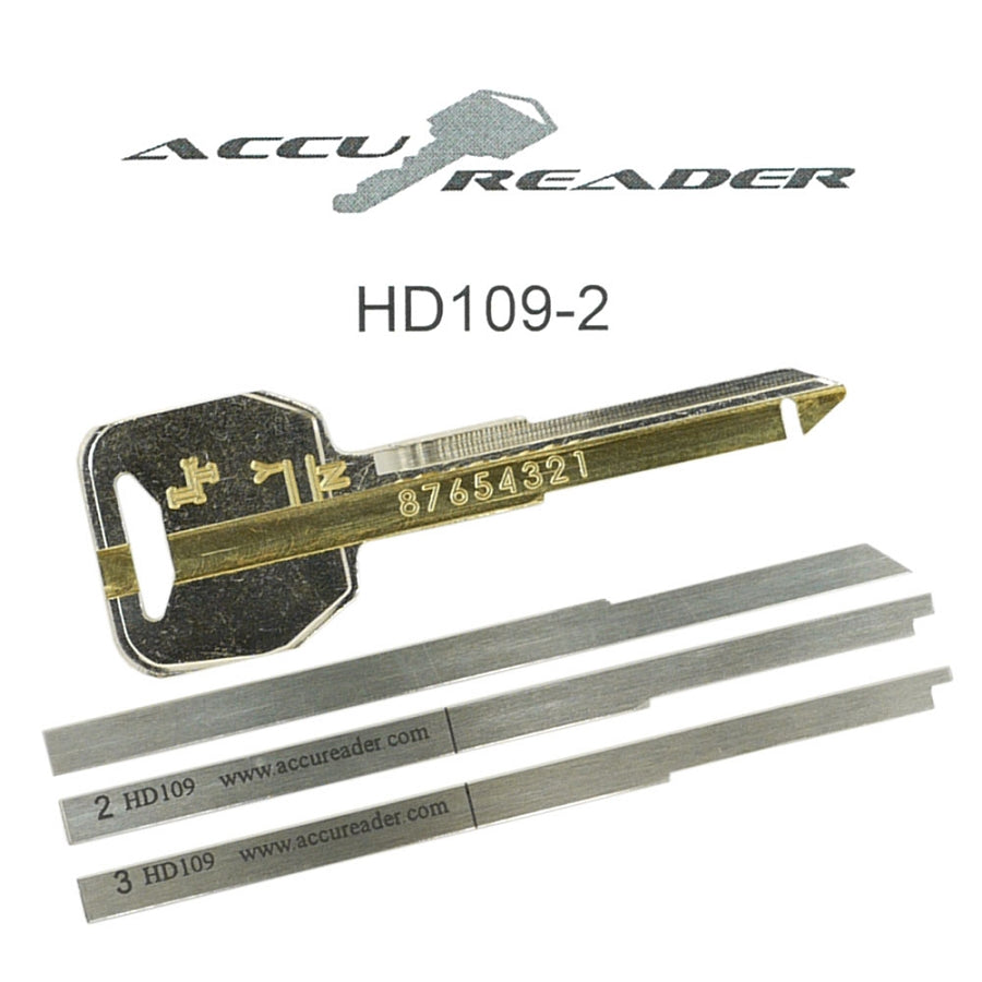 AccuReader for the Honda HD109 keyway locks - 02 + CBR954RR and 02 + CBR1000RR - LockTech