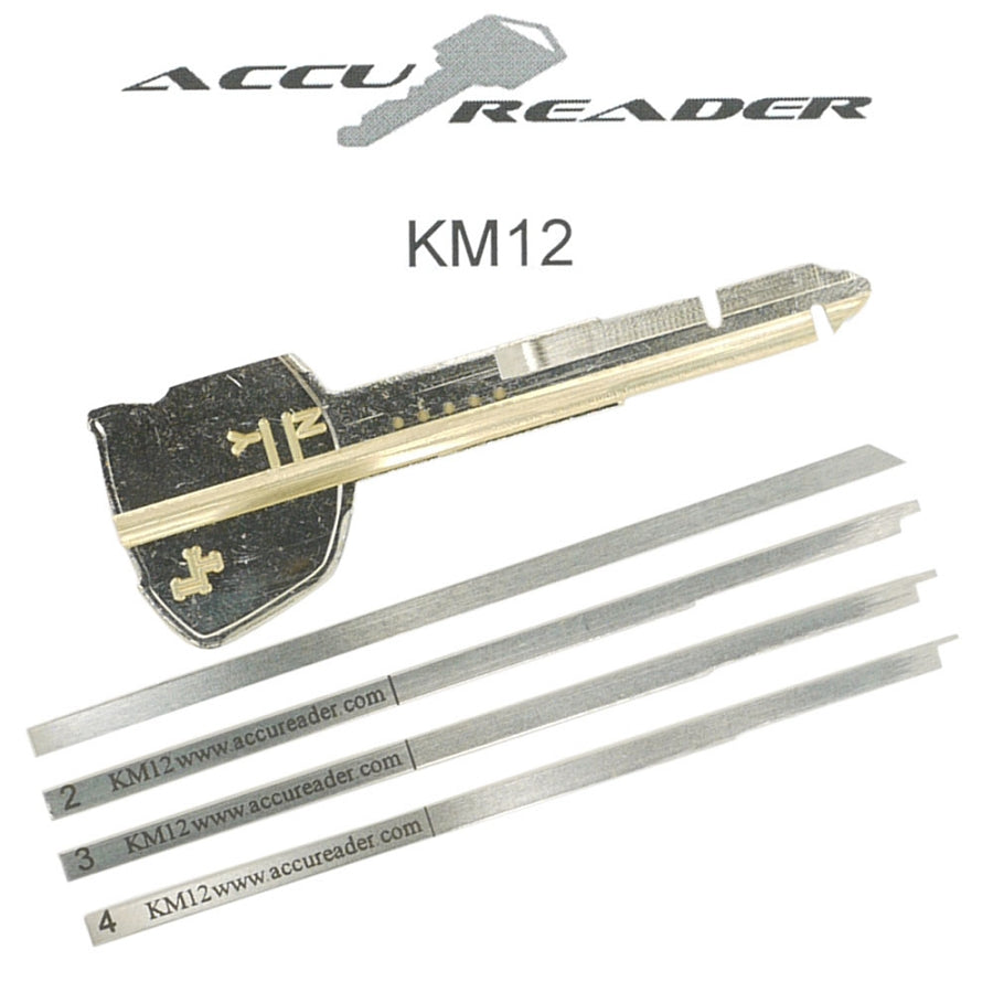 AccuReader for the Kawasaki KM12 keyway locks - LockTech