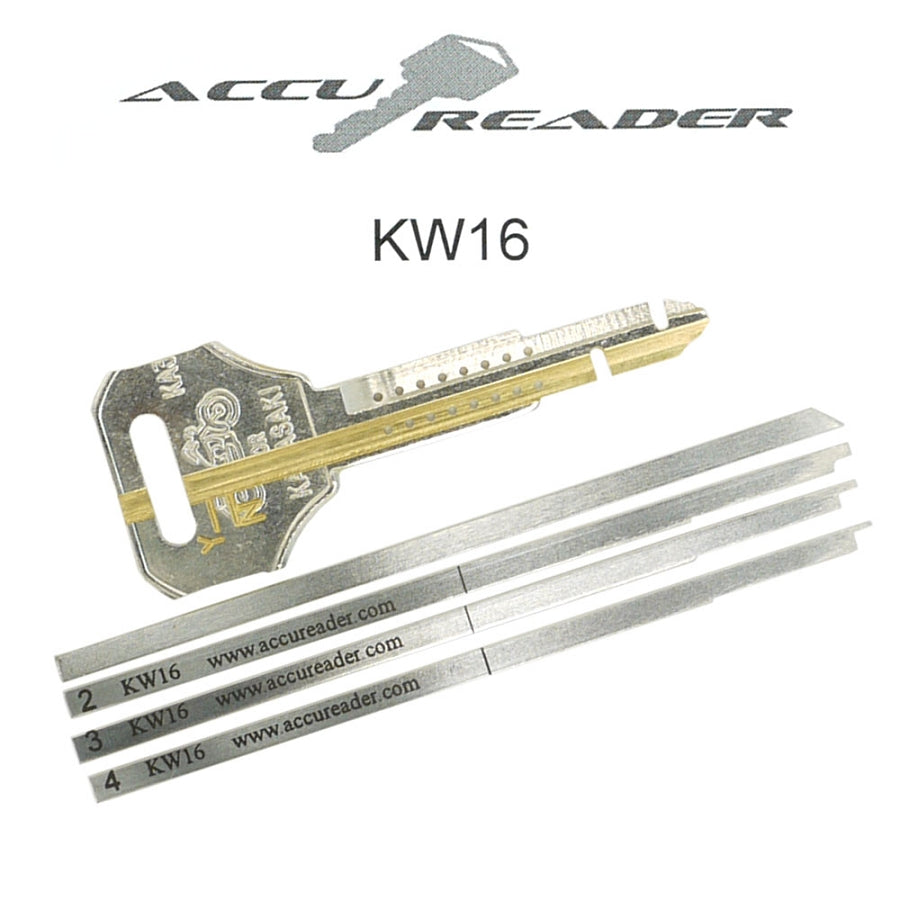 AccuReader for the Kawasaki KW16 keyway locks - LockTech