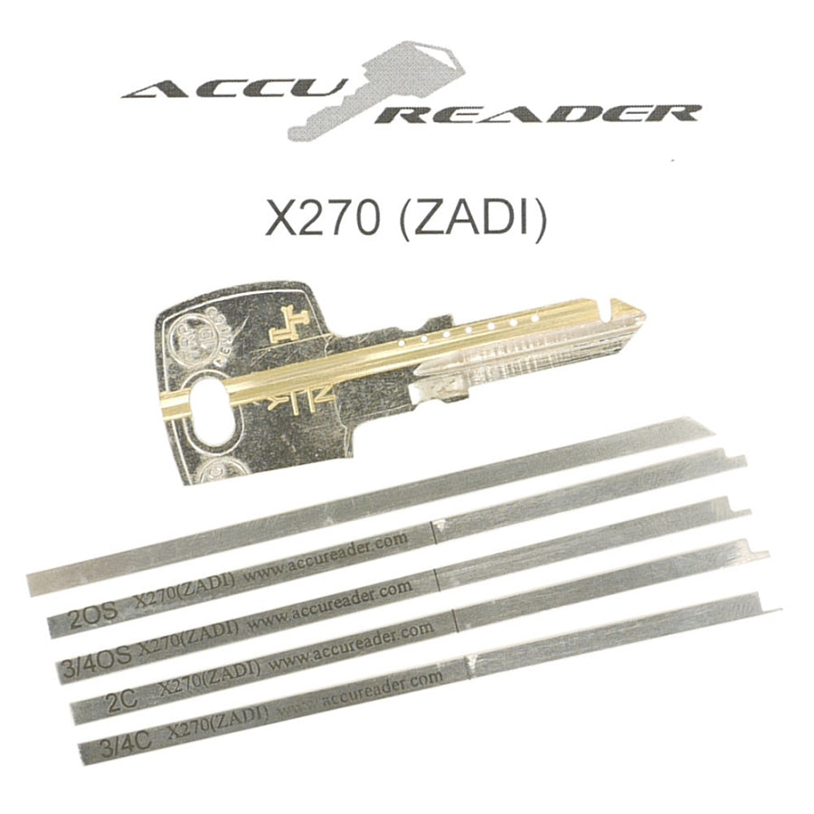 AccuReader for the Zadi X270 keyway locks - LockTech