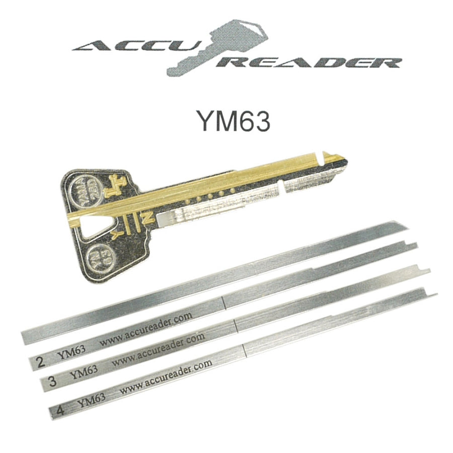 AccuReader for the Yamaha YM63 keyway locks - LockTech