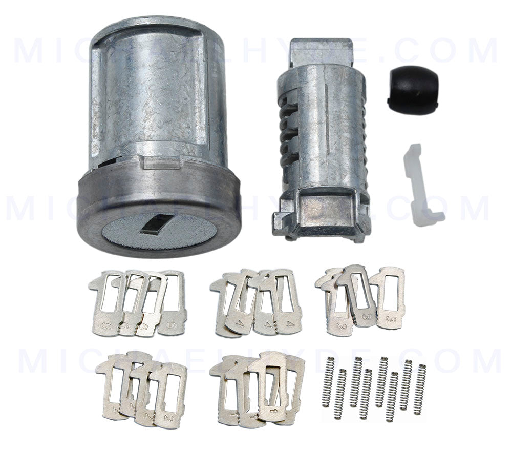 Ford Ignition Kit ASP C-42-197 Ignition Lock Cylinder with Tumblers & Springs - H75 Keyway - similar to Ford AU5Z-11582-A, 5S4Z-11582-BB, 5F9Z-11582-BA, 2L2Z-11582-B, XS4Z-11582-AC