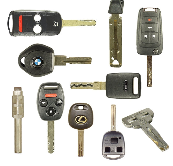 Fast Code Key Service - High Security Cut Keys - 2 & 4 Track Cuts