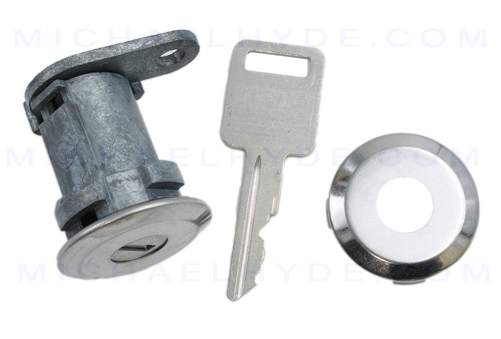 AMC & Jeep Door Lock Part - ASP# D-43-203 - Automotive Door Lock Service Pack, With Pawl, American Motors Concord-1983 to 1984, Jeep CJ, Wrangler-1984 to 1990 Year Model Right and Left Door - Coded