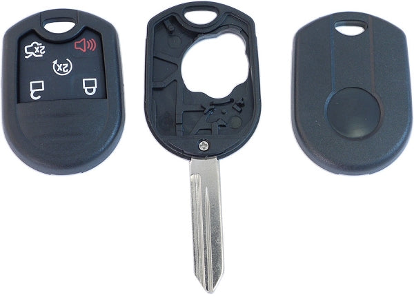 IKT Ford 5 Button Remote Replacement Shell - Closeout