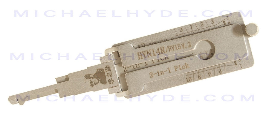 HY15 Hyundai - Original Lishi 2-in-1 Pick and Decoder