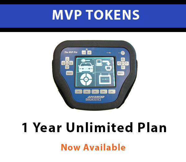 MVP 1 YEAR Unlimited Token Pack