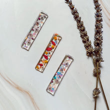 Load image into Gallery viewer, Porcelain Petals Barrettes (Long)