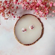 Load image into Gallery viewer, Cherry Blossoms Studs (2 shapes available!)