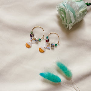 Gleaming Horizon #9 | Beads x Hoops