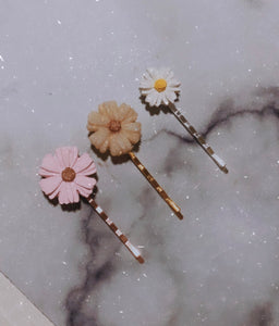 Flower Series Hairclips | Made To Order