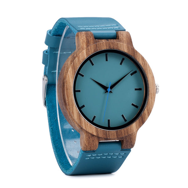 Casual Bamboo Wood Watch For Men And Women