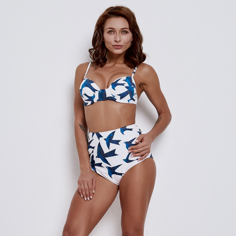 High Waist Push Up  Bikini Push Up Bikini Set