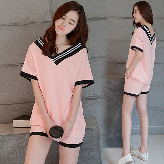 Cute Strawberry Short Sleepwear