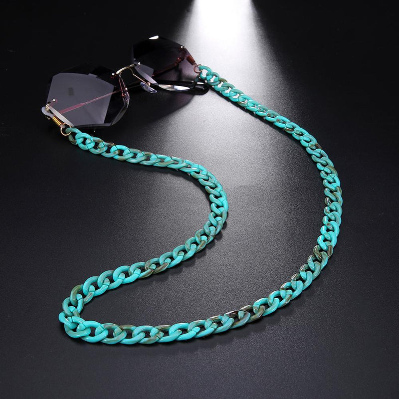 Fashion Acrylic Sunglasses Chains Lanyard Women