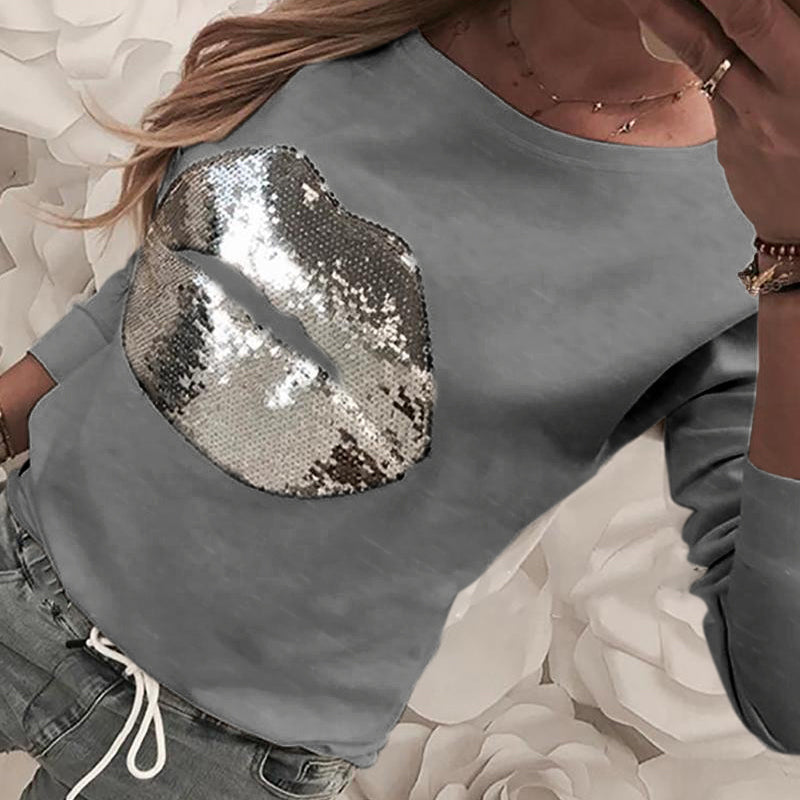 Sequins Women  Shirt