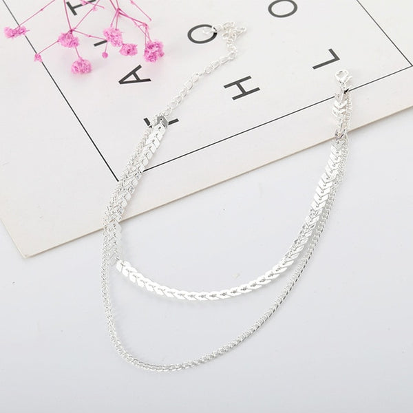 Two Layers Necklaces
