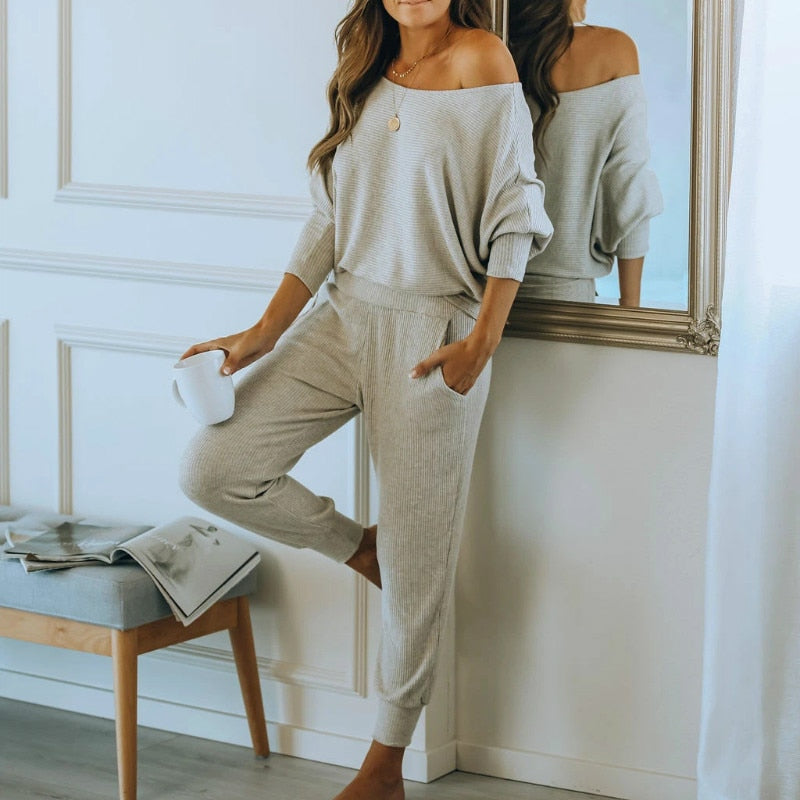 Two Piece Pajamas Set