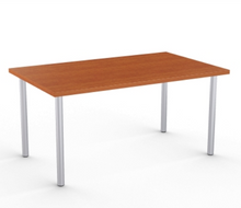 Load image into Gallery viewer, Ella Fixed Height Desk (Cherry), by Special T