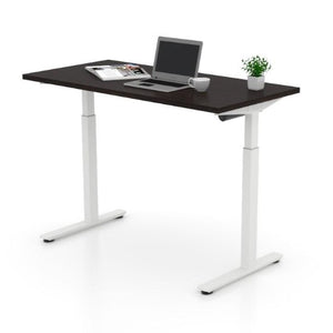 Height Adjustable Table (American Espresso), by Offices To Go