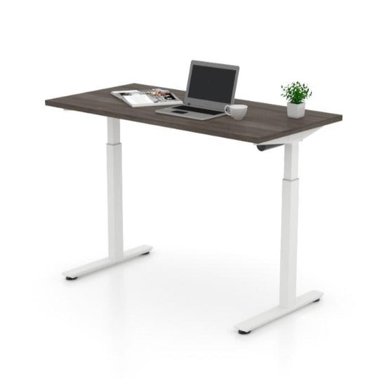 Height Adjustable Table (Artisan Grey), by Offices To Go