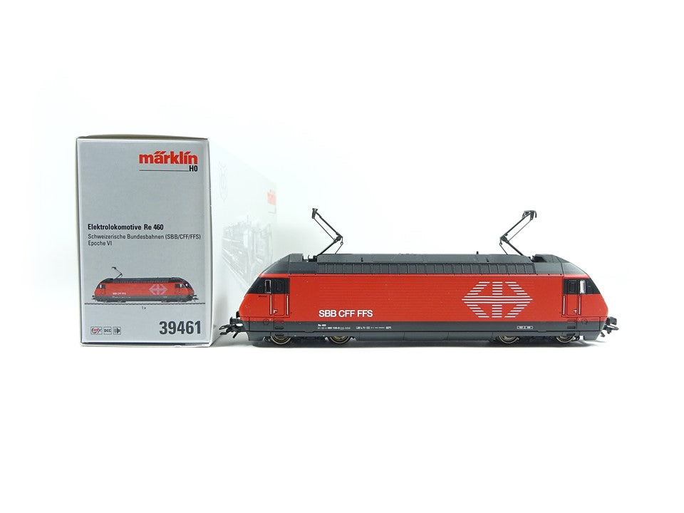 Märklin H0 39461, Elektrolokomotive Re 460, mfx+, sound, neu, OVP
