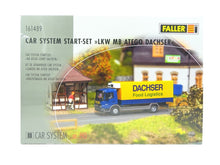 Laden Sie das Bild in den Galerie-Viewer, Faller H0 161489 Car System Start-Set LKW MB Atego Dachser, neu, OVP