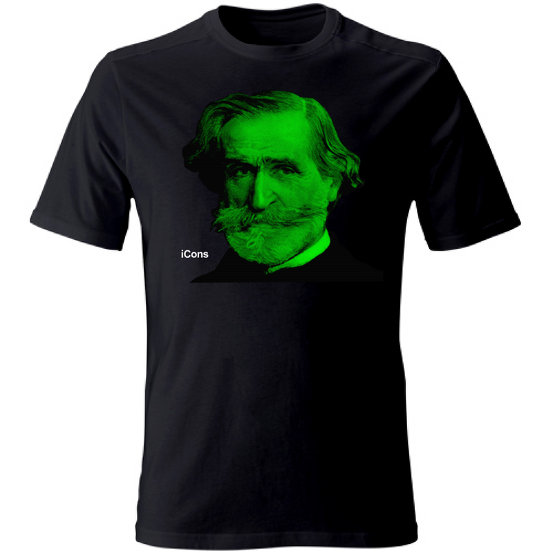 T-Shirt Unisex iCons Music Verdi