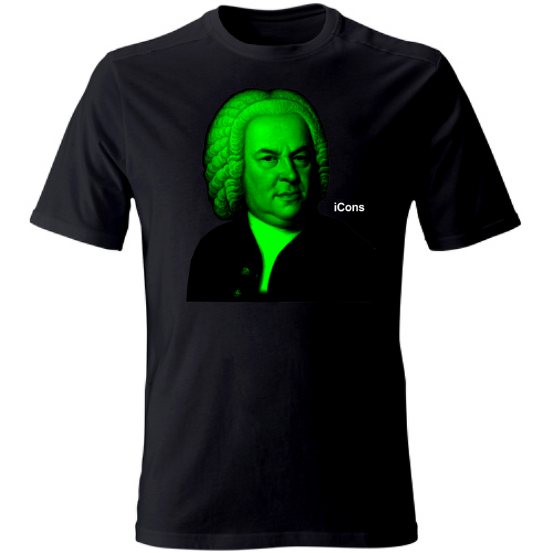 T-Shirt Unisex iCons Music Bach
