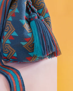 Pore Single Thread Wayuu Bag