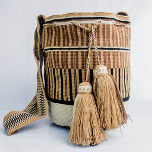Puerto Lòpez Single Thread Wayuu Bag